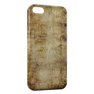 Coque iPhone 5/5S/SE Papier Vintage
