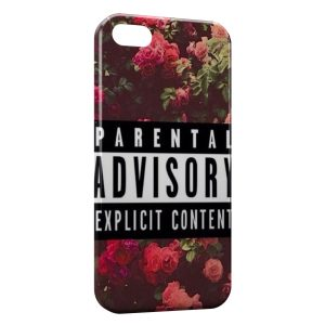 Coque iPhone 5/5S/SE Parental Advisory Explicit Content