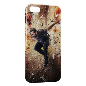 Coque iPhone 5/5S/SE Paul Walker Saut Fire