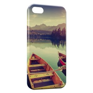 Coque iPhone 5/5S/SE Peaceful boat