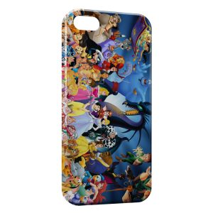 Coque iPhone 5/5S/SE Personnages de Disney