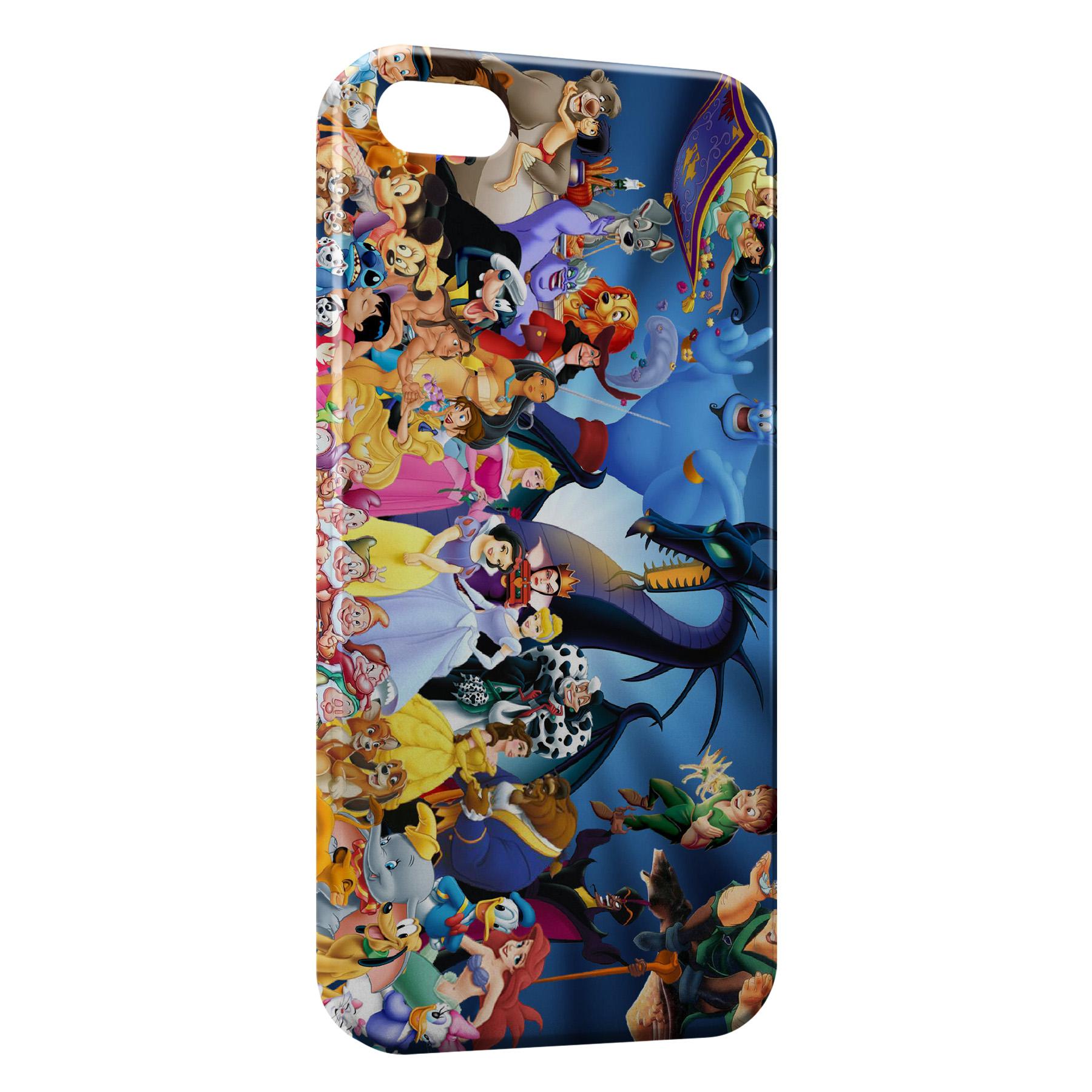 Coque iPhone 5/5S/SE Personnages de Disney
