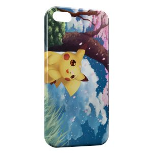 Coque iPhone 5/5S/SE Pikachu 8