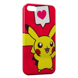 Coque iPhone 5/5S/SE Pikachu Love Pokemon