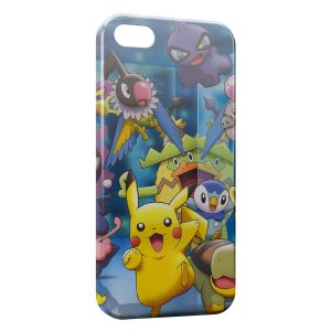 Coque iPhone 5/5S/SE Pikachu Pokemon Graphic 2