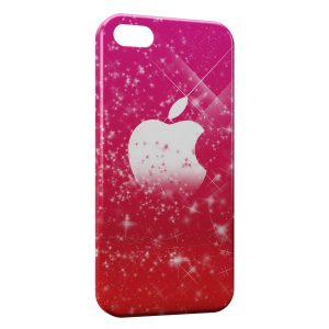 Coque iPhone 5/5S/SE Pink Apple