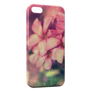 Coque iPhone 5/5S/SE Pink Flowers 3