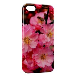 Coque iPhone 5/5S/SE Pink Flowers