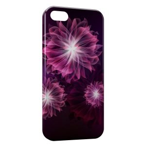 Coque iPhone 5/5S/SE Pink Flowers Design