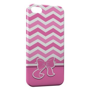 Coque iPhone 5/5S/SE Pink Noeud Cute
