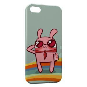 Coque iPhone 5/5S/SE Pink Rabbit