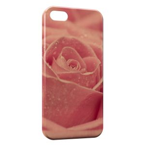 Coque iPhone 5/5S/SE Pink Rose