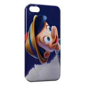 Coque iPhone 5/5S/SE Pinnochio pantin vrai petit garçon