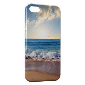 Coque iPhone 5/5S/SE Plage & Soleil