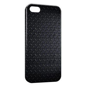 Coque iPhone 5/5S/SE Plaque d'acier