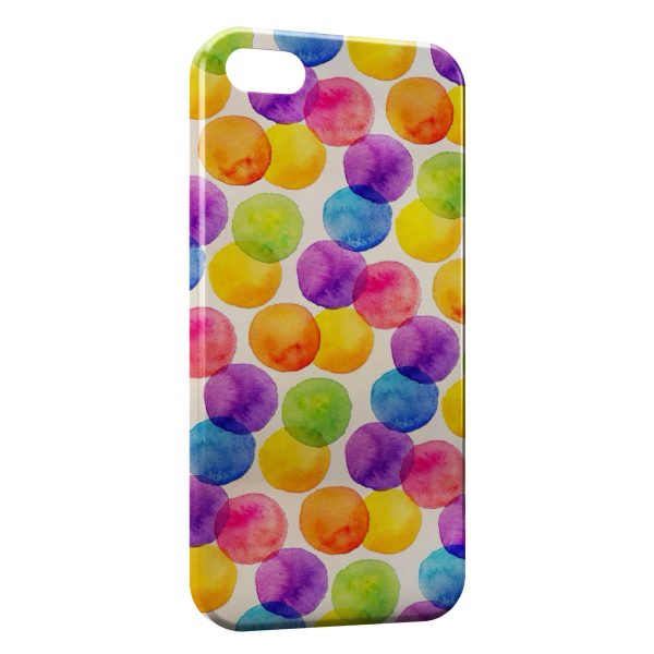 Coque iPhone 5/5S/SE Points Painted
