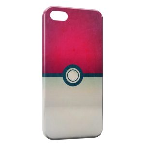 Coque iPhone 5/5S/SE Pokeball Pokemon Design