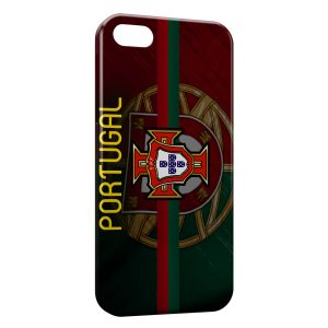 Coque iPhone 5/5S/SE Portugal FPF Drapeau