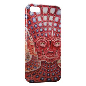 Coque iPhone 5/5S/SE Psychedelic Style 4