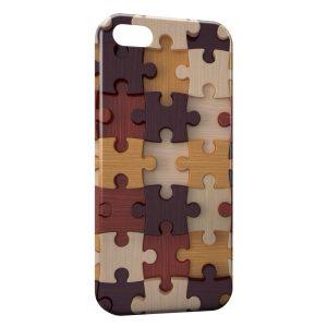 Coque iPhone 5/5S/SE Puzzle 3D Design
