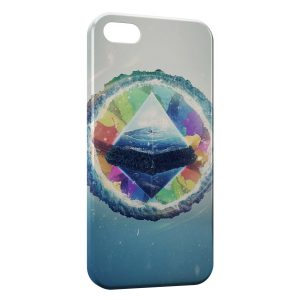 Coque iPhone 5/5S/SE Pyramide Art Design 4