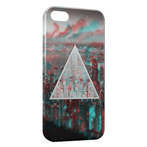 Coque iPhone 5/5S/SE Pyramide City 2