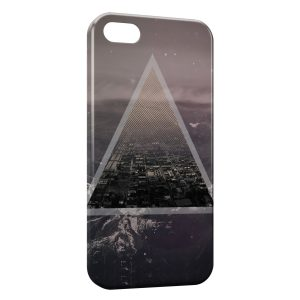 Coque iPhone 5/5S/SE Pyramide City