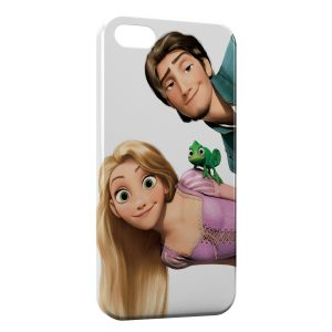 Coque iPhone 5/5S/SE Raiponce Flynn Pascal 4