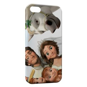Coque iPhone 5/5S/SE Raiponce Fynn Maximus Pascal