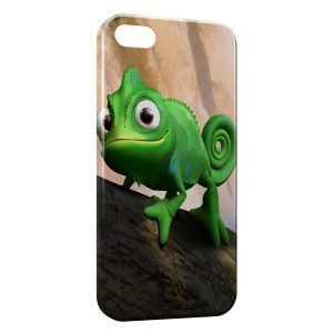 Coque iPhone 5/5S/SE Raiponce Pascal Cameleon 7