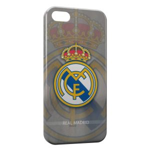 Coque iPhone 5/5S/SE Real Madrid Football 10