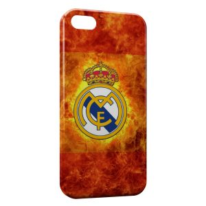 Coque iPhone 5/5S/SE Real Madrid Football 12