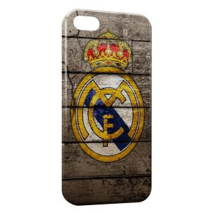 Coque iPhone 5/5S/SE Real Madrid Football 13