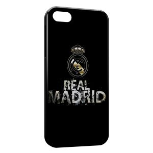 Coque iPhone 5/5S/SE Real Madrid Football 3