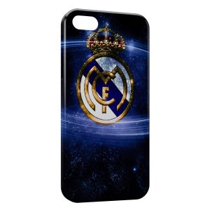 Coque iPhone 5/5S/SE Real Madrid Football 4