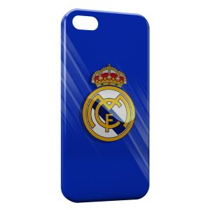 Coque iPhone 5/5S/SE Real Madrid Football 5