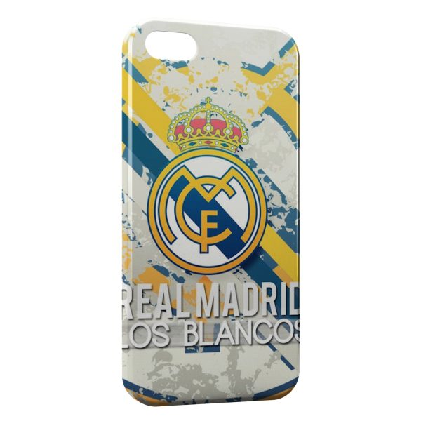 Coque iPhone 55SSE Real Madrid Football 6 600x600