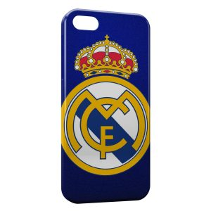 Coque iPhone 5/5S/SE Real Madrid Football 6b