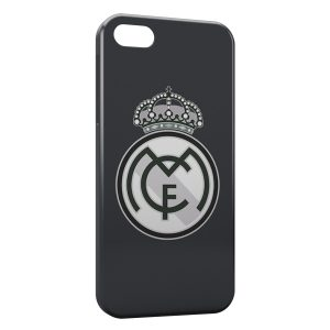 Coque iPhone 5/5S/SE Real Madrid Football 8
