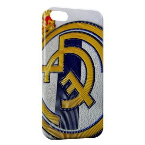 Coque iPhone 5/5S/SE Real Madrid Football Equipe 3