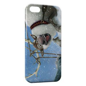 Coque iPhone 5/5S/SE Reine des neiges elan cerf