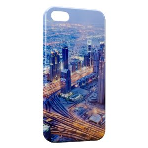 Coque iPhone 5/5S/SE Road Speed at Night City