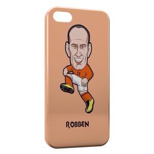 Coque iPhone 5/5S/SE Robben Football