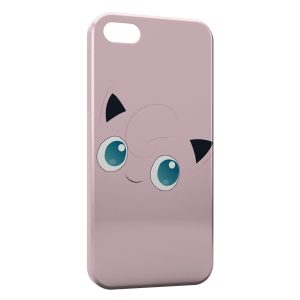 Coque iPhone 5/5S/SE Rondoudou Pokemon Simple Art 2