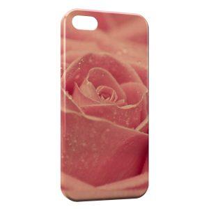 Coque iPhone 5/5S/SE Rose Design 2