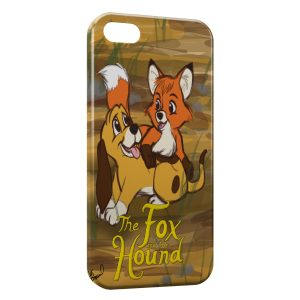 Coque iPhone 5/5S/SE Rox et Rouky Anime Graphic Art