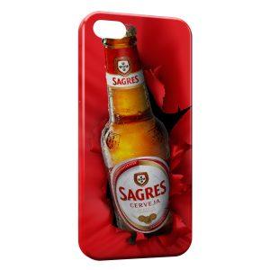 Coque iPhone 5/5S/SE Sagres Cerveja Bière Portugal