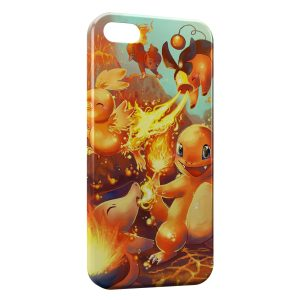 Coque iPhone 5/5S/SE Salameche Pokemon 22