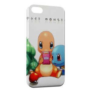 Coque iPhone 5/5S/SE Salameche Pokemon Gameboy
