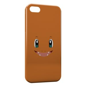 Coque iPhone 5/5S/SE Salameche Simple Art Pokemon